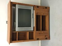 Sony TV and cabinet for sale