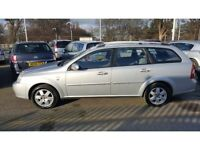 CHEVROLET LACETTI ESTATE 1.6cc 2005 FULL YEARS MOT BARGAIN AT ONLY £995
