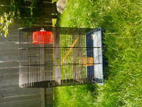 Three story hamster cage