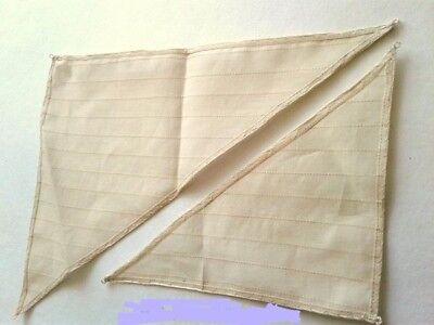MK0201SL Fabric Sails for Double Boat Wooden Kit 1/72 (art.MK0201), wooden kit