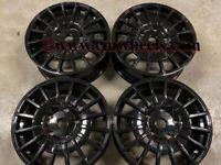 "18 20"" Inch OZ M-Sport MSRT Alloy wheels Ford Transit Custom Van centre bore 65.1 5x120 Gloss black"