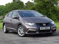 Honda CIVIC 1.8 i-VTEC SE 5dr (brown) 2012