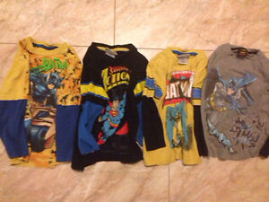 $5 for All. Superman & Batman Long Sleeve Shirts.