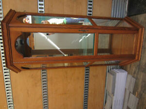 Oak curio Cabinet REDUCED
