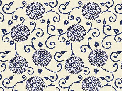 BLUE INDIGO RHAPSODY Design Tissue Paper Sheets 15