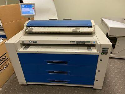 Kip 9000 Wide Format Printer With Color Scanner