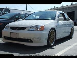 SPECIAL LIP HONDA CIVIC ACURA INTEGRA MUGEN TYPE R LANCER MAZDA