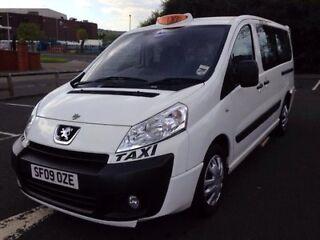 2009 peugeot e7 expert taxi full m1 spec - long wheel base - 1 owner from new - long mot