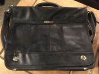 Samsonite leather briefcase bag