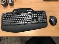 Logitech MK700 Wireless keyboard and mouse.