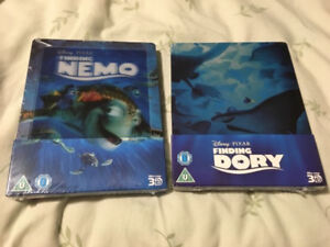 Finding Nemo and Finding Dory Steelbook Blu-ray