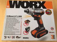 Worx 20 v impact drill
