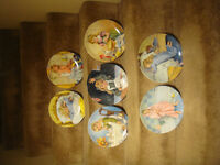 Collector Plates - Becky's Day Series