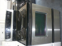 STAINLESS STOVES, $450-$550, DIFFERENT TYPES