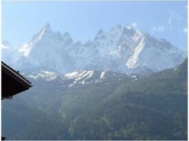 Late Skiing in the Alps (Chamonix) March 21-23 and 29-31 and after April 15th, also Spring, Summer