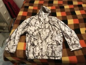 Snow camo. Never worn.