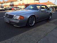 Mercedes 500sl 54000 miles,px,swap drift,classic