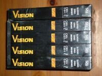 EMTEC VISION 3HRS E-180 CHROME VIDEO CASSETTE