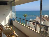 BEAUTIFUL 2 BEDROOM APARTMENT BEACH FRONT. SPAIN. COSTA DEL SOL