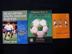 3 x Football [Soccer] Coaching Books - Youth+Kids [FFA Approved] Loganholme Logan Area Preview