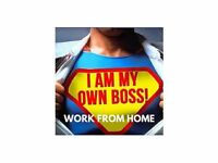 Work from Home. Run your own Business!