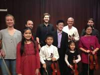 VIOLIN LESSONS for all ages and levels - Come for a FREE TRIAL