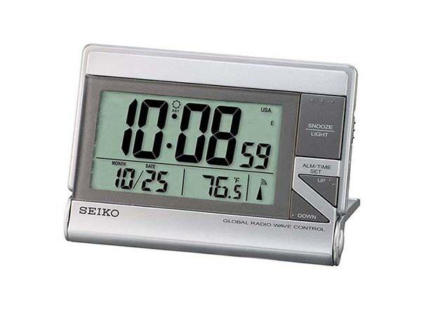 top 5 seiko electronic travel alarm clocks ebay. Black Bedroom Furniture Sets. Home Design Ideas