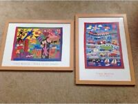 Beautiful Pictures for child's bedroom - great condition.
