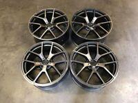 """19"""" Inch C63 AMG 507 Style Alloy Wheels Mercedes A C E S CLASS W204 W205 W212 W213 5X112 W221 W222"""
