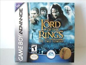 Gameboy Advance Game - The Lord of the Rings: The Two Towers
