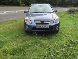 2005 Honda CR-V executive sat NAV F/S/H 2.2 diesel 1 year mot excellent condition price reduced