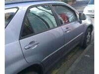 Lexus RX300 3.0 V6 O/S Front Door Bare (2002) (silver)
