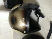 Motorcycle helmet / casque cafe racer style medium/small
