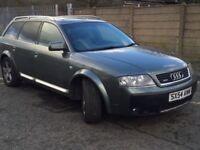 Audi a6 allroad tdi quattro, 2.5 full service history, leather interior, long...