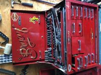 Snap on and Mac tools for that and more