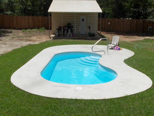 So bauen Sie sich selbst einen GFK-Pool in den Garten | eBay