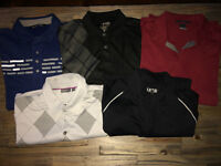 Men's Golf Shirts - Clothing for sale
