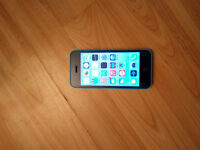 iPHONE 5C 16 GB BLUE **GOOD CONDITION--LOCKED to BELL/VIRGIN**