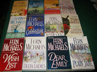 Fern michaels books $1 each or $10 for the lot