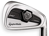 TaylorMade TP MC iron set, 4i to PW. Right handed, stiff S300 shafts.