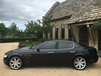 2007 Maserati Quattroporte M139 2007 Maserati Quattroporte Sport GT Duoselect