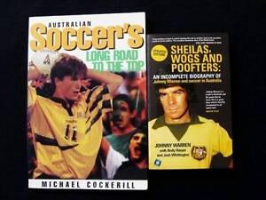 [Soccer] Aust Soccer's Long Road to the Top + Johnny Warren Biog Loganholme Logan Area Preview