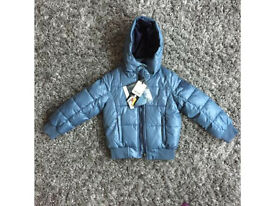 BNWT Geox Boys Coat / Thermal Breathable Padded Jacket