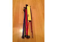 Metal Adjustable Sheet Music Stand Holder Folding Foldable with Carry Case Bag Kinsman