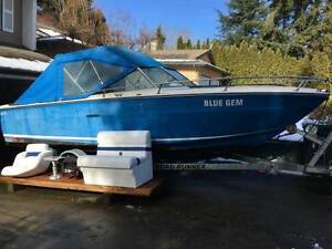 24 Foot Sea Ray Boat