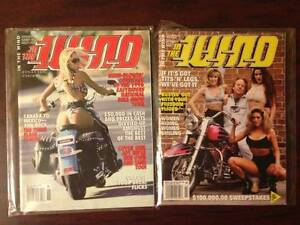 Five 90's Motorbike Magazine's Still in Wrappers