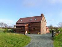 Holiday Cottage in beautiful coutryside on Shropshire / Wales Borders