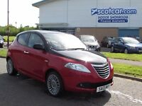 CHRYSLER YPSILON 1.2 BLACK AND RED 5D 69 BHP FREE 12 MONTH WARRANTY