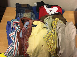 Boys lot of clothes -$30 Prince George British Columbia image 1