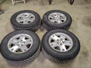 Brand New tires on rims FORD ESCAPE